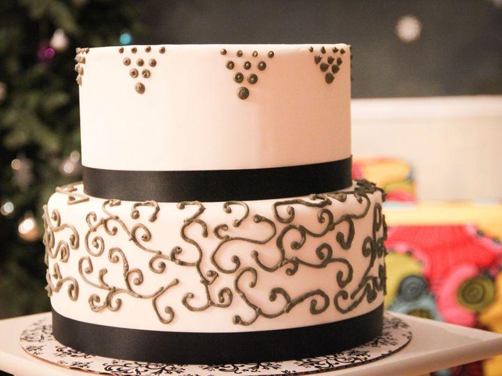 Tmx 1389823570773 Img468 Puyallup wedding cake