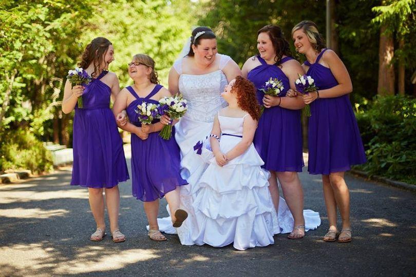 matthew way wedding party gals