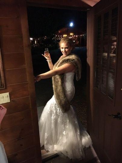 Gorgeous bride