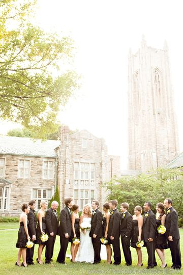 Beautiful grounds and gothic architecture of Scarritt-Bennett.  Photo: Chris and Adrienne Scott...