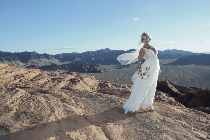 On top of Valley of Fire