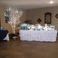 White long table