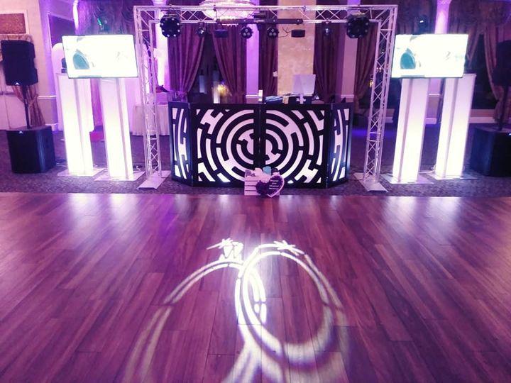 Intricate lighting display