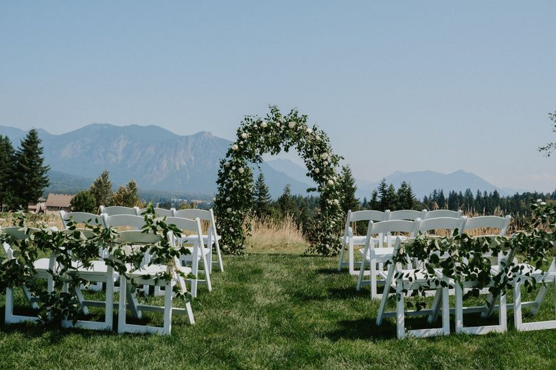 Intimate Ceremony Site