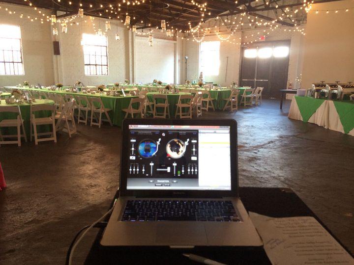 DJ's laptop