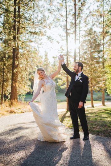 Dancing as Mr. & Mrs.