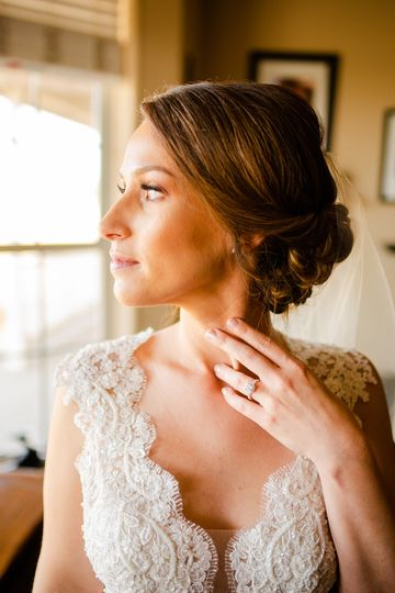 Beautiful bride ready to wed