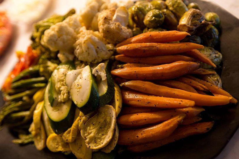 Seasonal Grilled Veggies