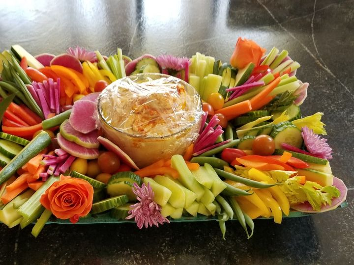 Tmx Jhd Hawaiian Themed Veggie Platter 51 984303 158870253990212 Bethel, CT wedding catering
