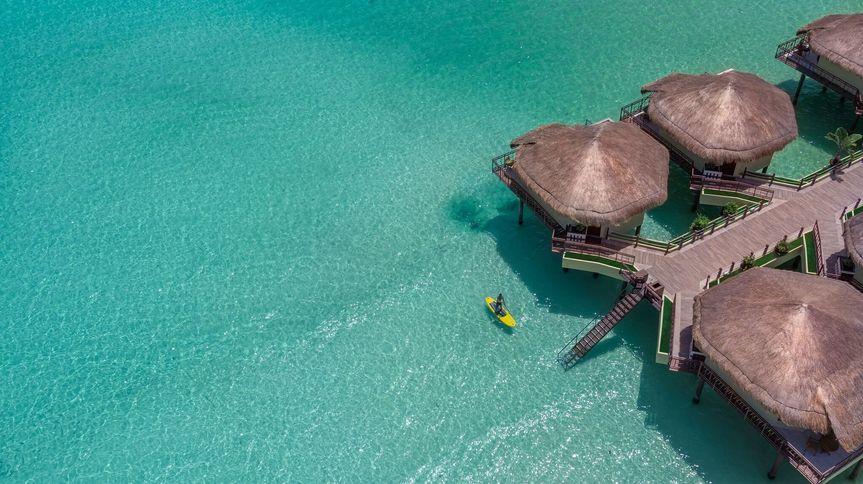 Palafitos overwater bungalow