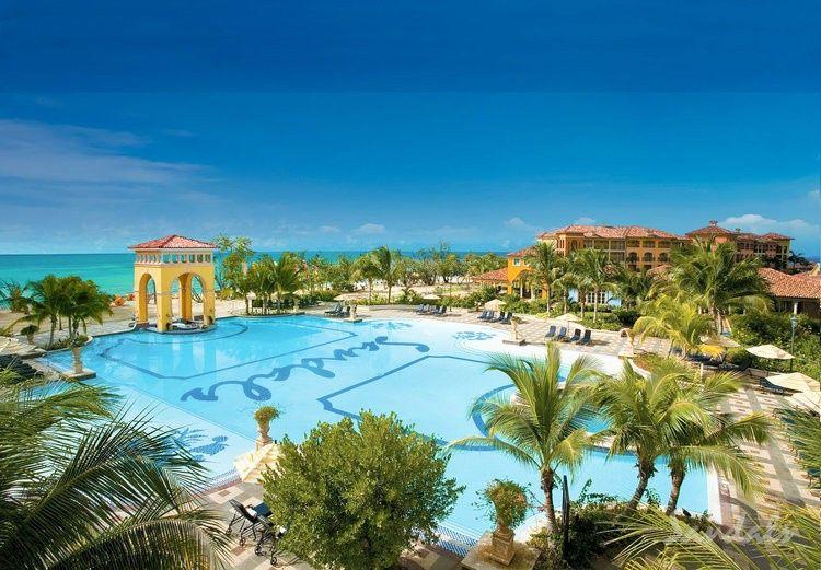 Stunning seaside resort