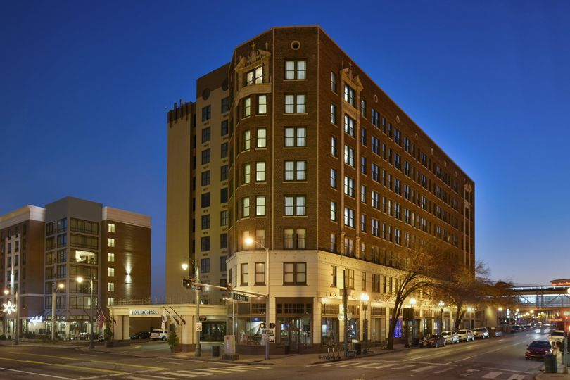 Doubletree downtown Memphis