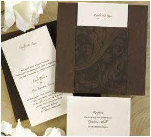 """Chocolate Indulgence   Capture the """"Oohs"""" and """"Aahs"""" of guests with this invitation highlighting a..."""