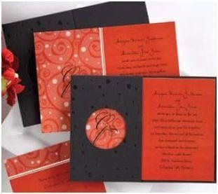 Spotted Expressions  Guests will love receiving this contemporary wedding invitation featuring your...