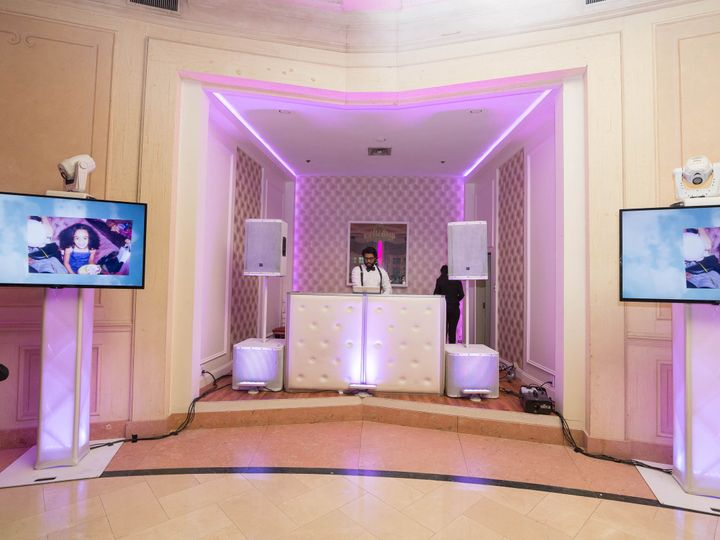Tmx 1487025778273 2 Lights And Plasma Set Up 4 Mineola, NY wedding dj