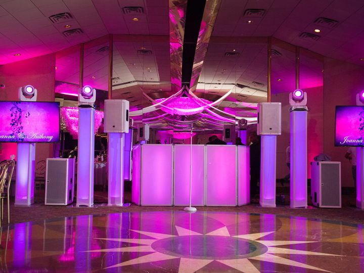 Tmx 1487026130440 Intelligent Lights And Plasma Set Up Mineola, NY wedding dj