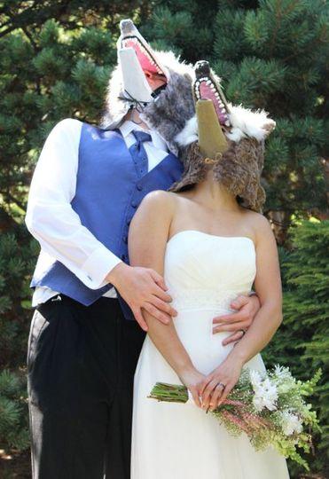 Wolf Mask Wedding