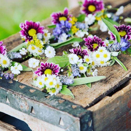 Wildflowers decoration