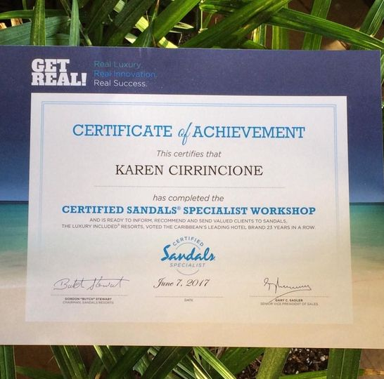I am a Certified Sandals/Beaches Specialist! Let me help you with your destination wedding and/or...