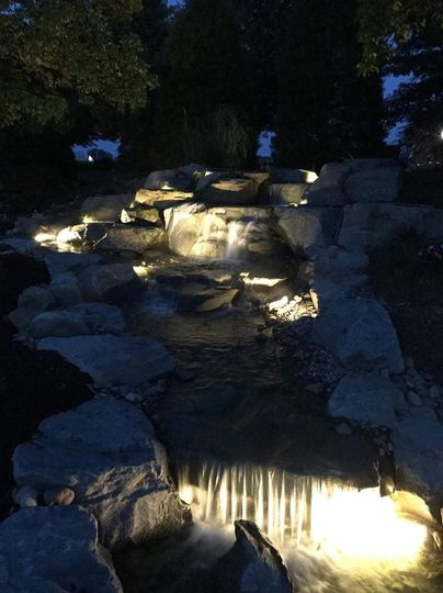 Our waterfall makes for the perfect spot for romantic pictures.