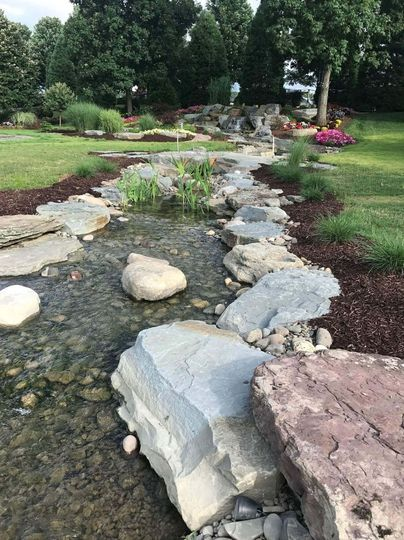 Enjoy our waterfall stream during your event!