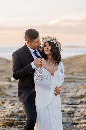 Coastal Elopement Wedding