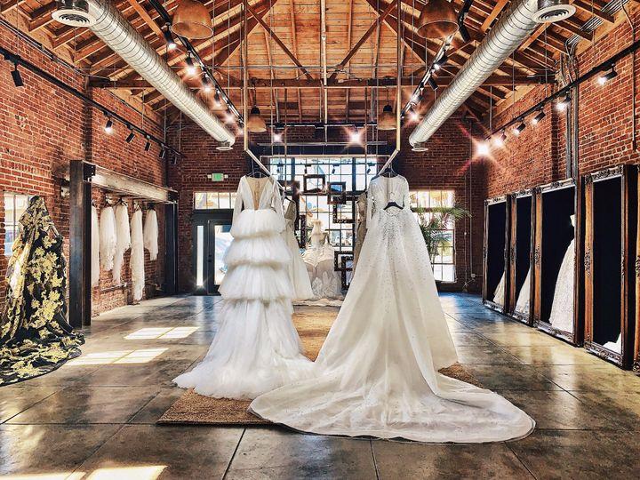Fashion forward gowns