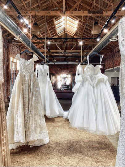 A vast selection of dresses