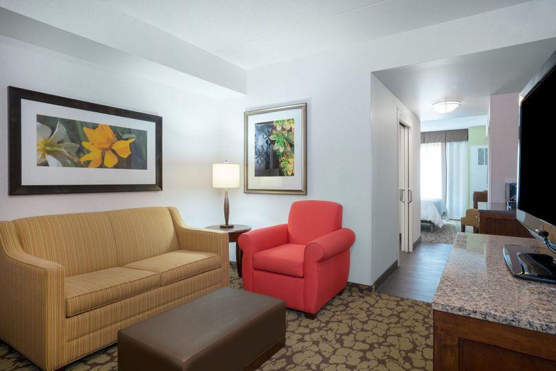 Junior King Suite Living Room