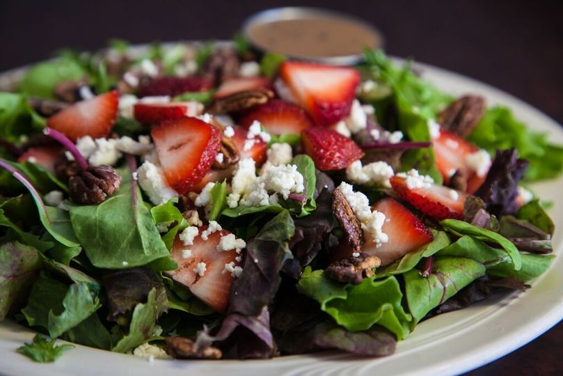 strawberry field salad