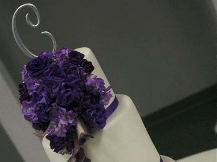 Tmx 1375984111374 Purple Flowers Manhattan wedding