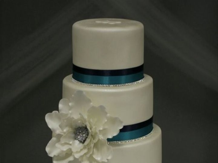 Tmx 1375984730767 Blue Black Bling Manhattan wedding