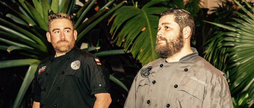 Owners Chef Brian & Chef Jose
