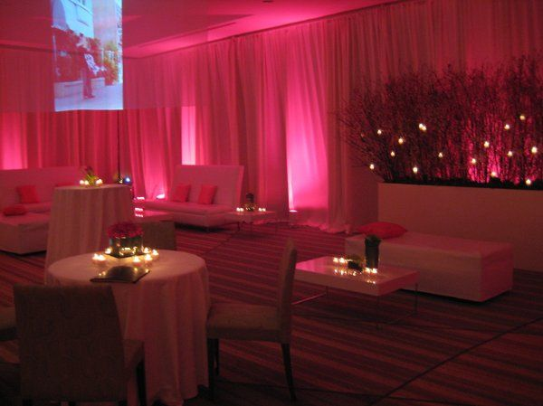 "The ceremony site was transformed into a ""club"".  The staff at the Naples Grande Hotel did an..."