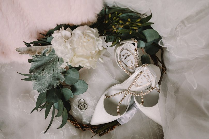 Bridesmaid wreath