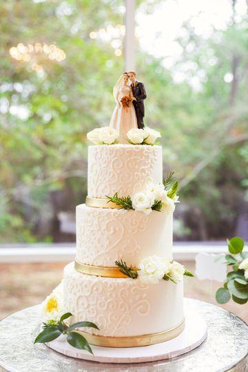 Wedding cake embellishments
