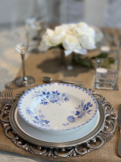 French Vintage Dinnerware