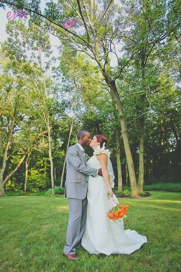 Bride and groom Erin Townsend Photography