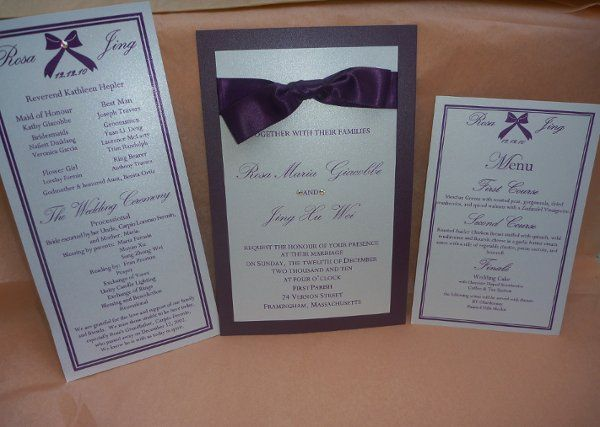 Tmx 1326996640370 P1090934 Sherborn wedding invitation