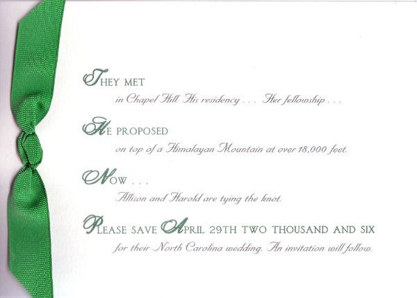 Tmx 1326997373713 WCC1750 Sherborn wedding invitation