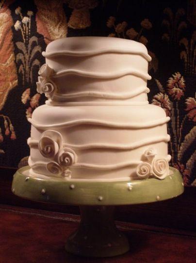 The Hat box cake