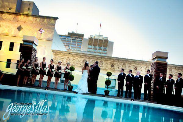 Level Four Pool Deck Ceremony