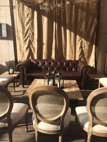 Sumptuous lounge seating