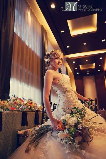 Beautiful Bride in Ovation