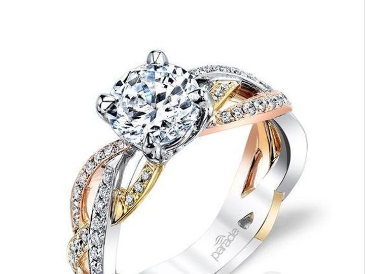 Tmx 1466783794651 3tone Eng Ring Ballwin wedding jewelry