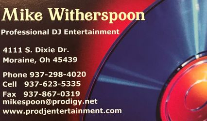 Mike Witherspoon Professional DJ Entertainment