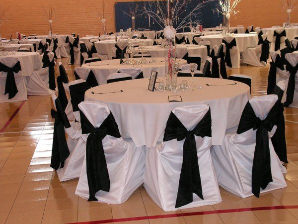 Chair Covers with Ties