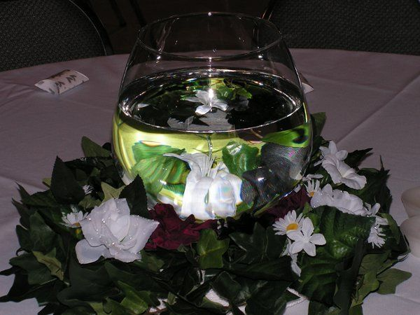 Centerpiece with Floral Ring
