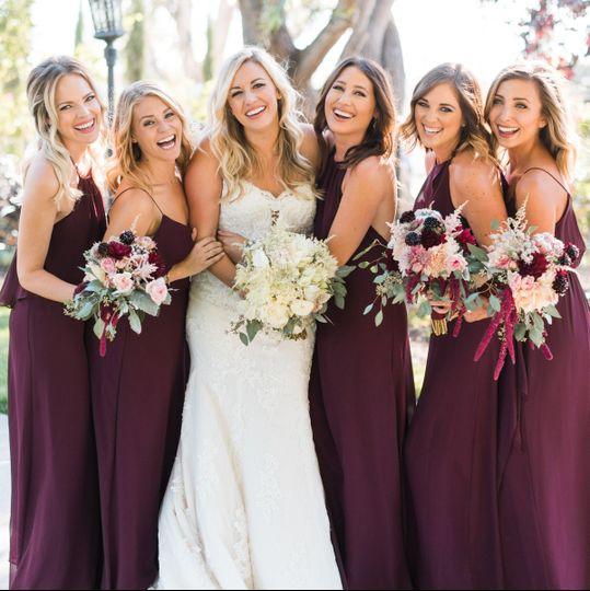 Las vegas bella bridesmaid