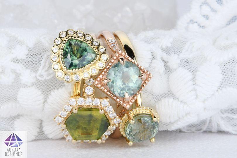 Unique Sapphire Rings